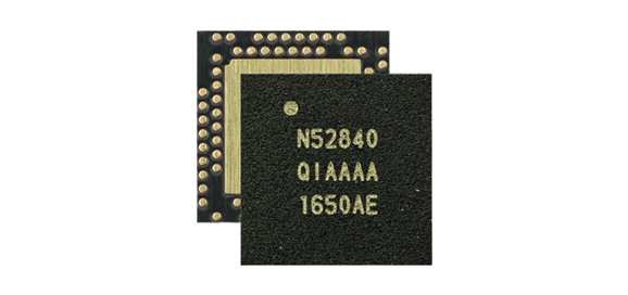 Volume production of the Nordic Semiconductor nRF52840 SoC brings